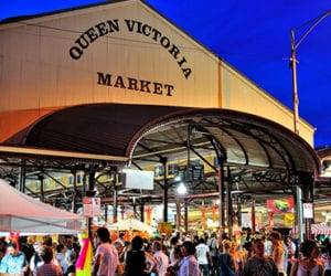 Queen Victoria Markets Melbourne