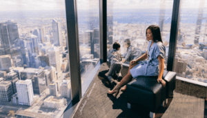 Eureka Sky Deck In Melbourne